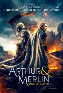 Arthur and Merlin: Knights of Camelot Poster