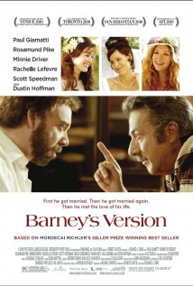 Barney's Version Poster